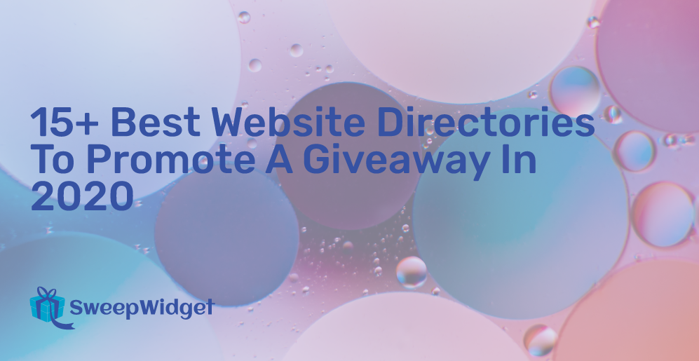 15+ Legitimate Sweepstakes Sites To Promote Your Giveaway (Verified)