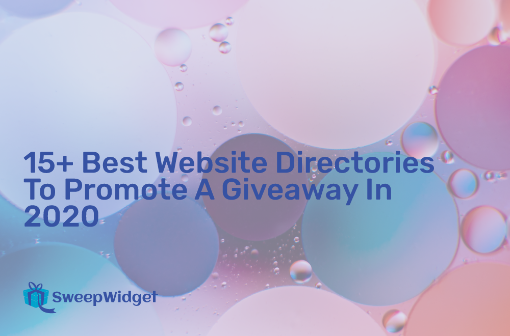 15+ Best Website Directories To Promote A Giveaway In 2020