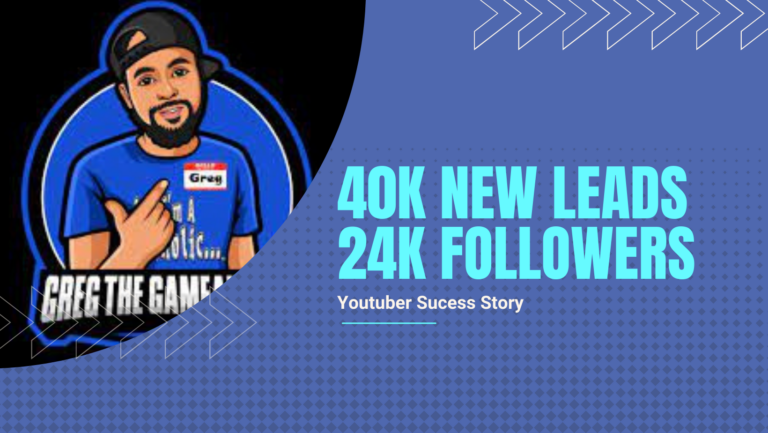 How This Youtuber Got Over 40k Leads & 24k Followers With An Online Giveaway