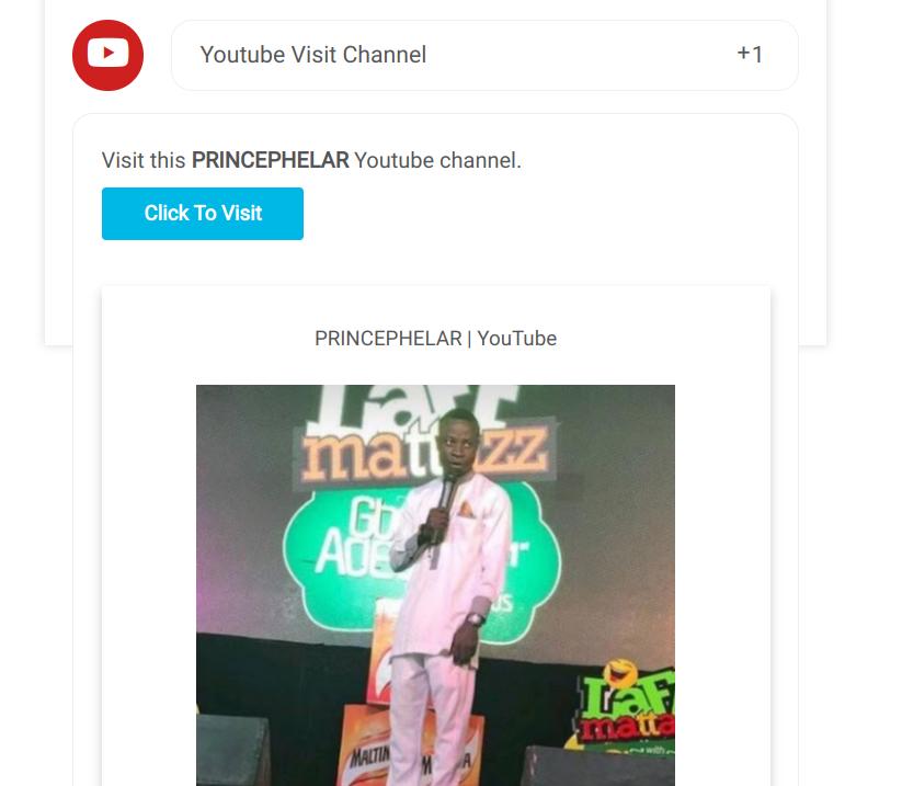 Visit youtube channel sweepwidget