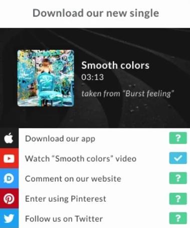 Gleam apps rewards