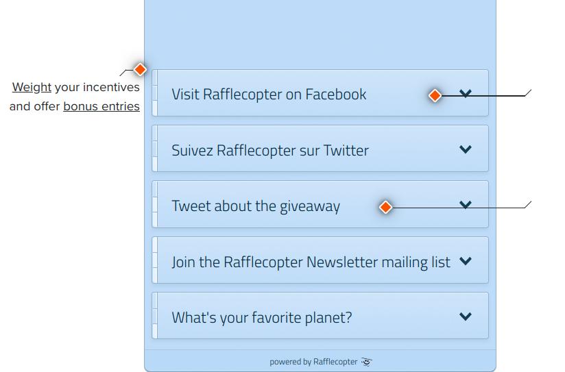 Rafflecopter tour