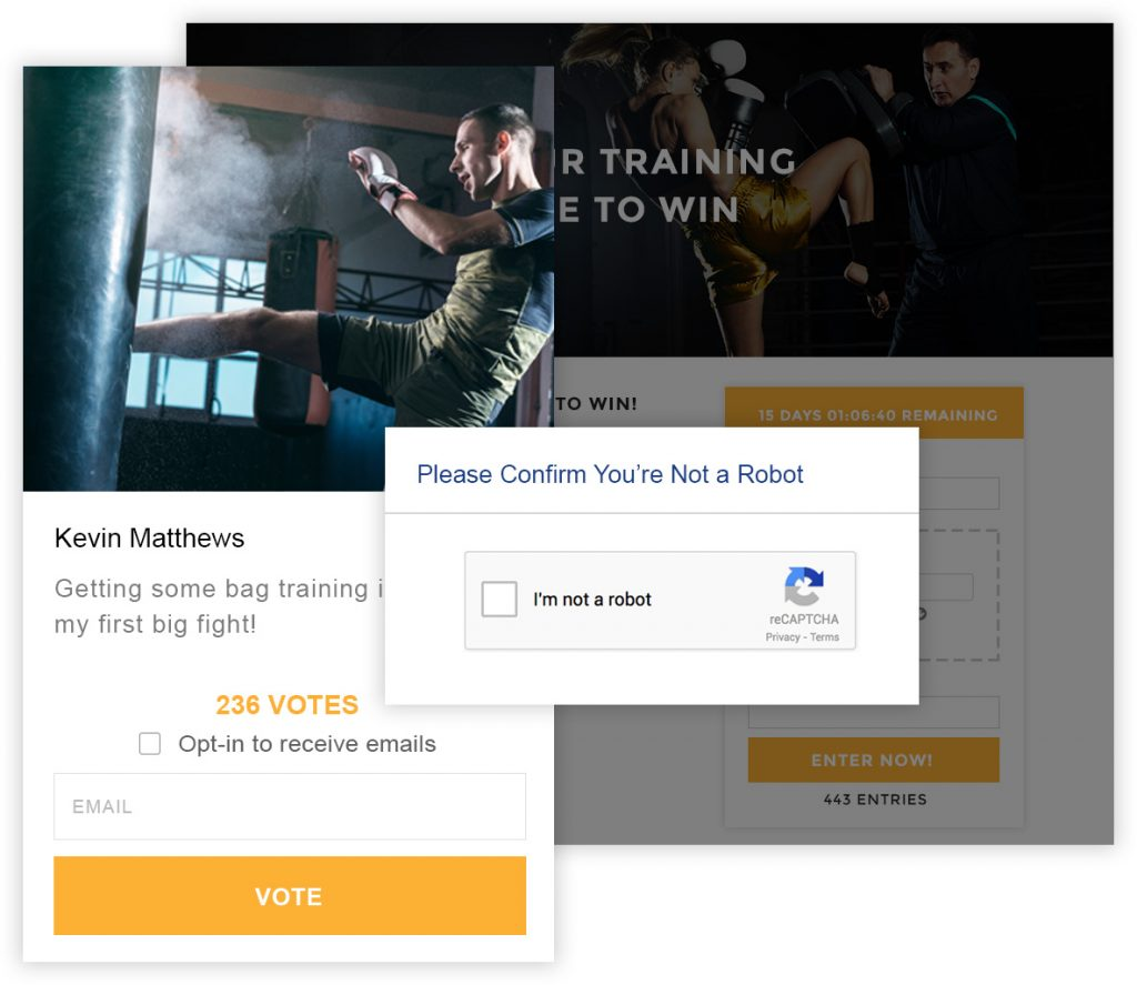 Wishpond voting options